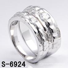 Anillo de plata blanco de la nueva joyería de la manera (S-6924. JPG)