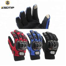 Universal Großhandel Vollfinger Outdoor Sports Motorrad Handschuhe Reiten Radfahren Touchscreen Handschuh Motocicleta Guante