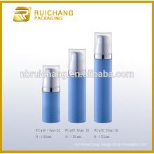 15ml30/50ml plastic cosmetic airless bottle,plastic round airless bottle,cosmetic packaging