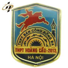 Épingles de dessin animé de badge en métal de haute qualité