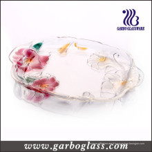Lily Glass Plate (GB1730LB / PDS)