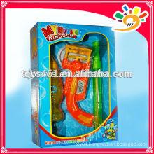 Electric bubble gun toys