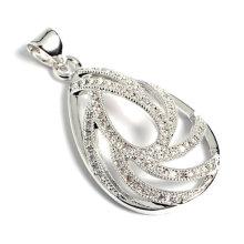 Accesorio de la joyería pendiente de la manera con el zircon cúbico