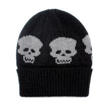 Bonnet souple en tricot pour homme en laine extensible souple avec chapeau d'hiver (HW427)