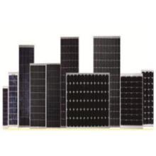 Painéis solares mono de 450 W de meia célula