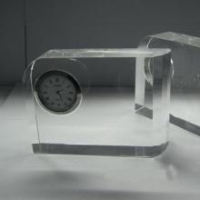 Relógio de relógio de quartzo de cristal em branco para crianças como presentes