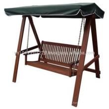 Meranti Juego de muebles de jardín / exterior - Hamaca Swing