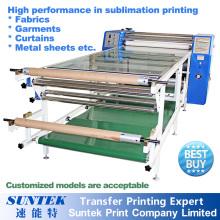 Máquina de impressão Digital do transferência de calor de sublimação rolo automático