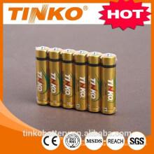 TINKO 1.5V alkaline battery 1200mah LR03 for your lighter life