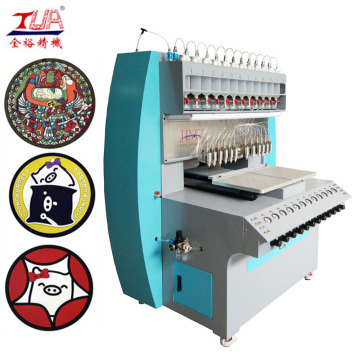 Automatic Rubber Liquid Cup Coaster Machine