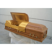 American-Style Classical of Wooden Casket Gwf01-05