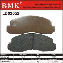 Стабильные и качественные тормозные колодки (D2052) для Toyota