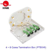 Boîtier de terminaison de câble à fibre optique à 4 ports