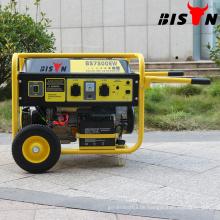 BS6500WGKM Schwarzes BISON China Taizhou Elektrisches Benzin-Schweißens-Generator-Set Dual-use Schweißmaschine-Maschine des besten Preises