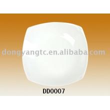 Prato de molho de porcelana por atacado direto da fábrica