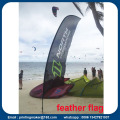 15ft Werbung Flying Beach Banner mit Digitaldruck