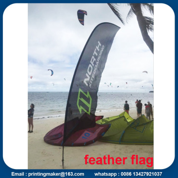15ft Advertising Flying Beach Banner dengan Digital Printing