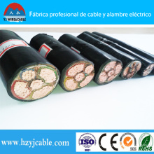 PVC PE XLPE Insulated Copper Cable