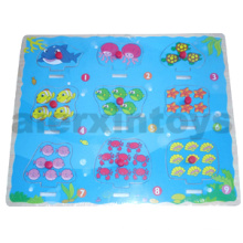 Wooden Puzzle Numbers with Sea Animals (80898)