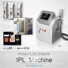 TÜV ISO13485 & Medical CE IPL intensiv gepulstes Licht für die Epilation