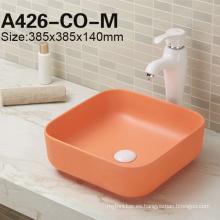 Fregadero de porcelana Lavabo de lavabo de venta caliente