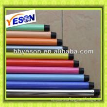 New design flower pvc coated Metal broom handles