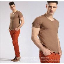 Männer Classic V-Ausschnitt mit kurzen Ärmeln T-Shirt
