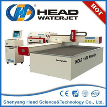 China HEAD 1530 high quality glass cutting water jet machines