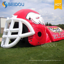 OEM Inflable Túnel Inflable Dome Tent Shell Techo Evento Gran Sports Tent Inflatable