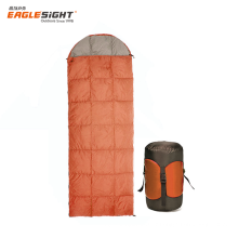 Light Weight Envelope Sleeping Bag Down-proof White Duck Down Sleeping Bag With Hood Outdoor Camping Sleeping Bag