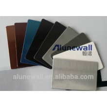 Alunewall main product stainless steel aluminium composite panel