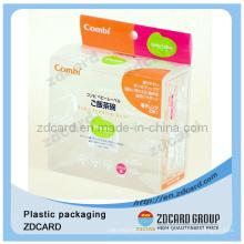 Caja de empaquetado del tubo de las bolsas de plástico seguro para alimentos