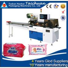 Máquina de embalagem automática do tecido do travesseiro
