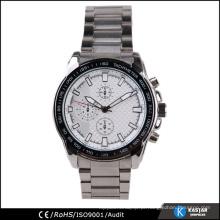 Homens de aço inoxidável assistem 2015, fabricante de relógios personalizados