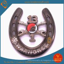 Benutzerdefinierte 3D Neuheit Warhorse Military Souvenir Metallmünzen (LN-077)