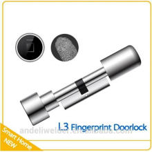 Fingerprint Scanner Biometric Fingerprint Lock Small Cylinder Security Dead Lock