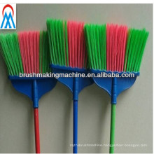 automatic three colours drilling and tufting broom machinery manufacturer in brush making machines