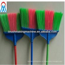 fabricante automático de máquinas de vassoura de perfuração e tufting de três cores em máquinas para fabricação de escovas