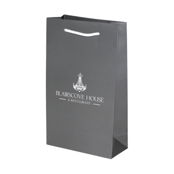 Lyx Black Gift Packaging Pappersväska med handtag