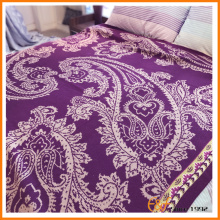100%WOOL Floral Paisley Knitted Blanket