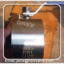 Cast or Forged Stainless Steel Italy Wafer Ball Valve with Thin Body