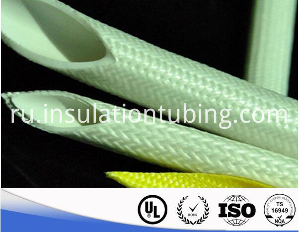 Silicone Rubber FiberGlass Braided Sleeving