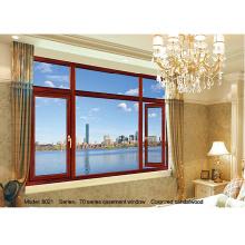 Standard names of aluminum casement windows profile/brown aluminium window frames
