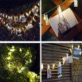 Inicio Foto Colgante LED Clips Cadena Luces