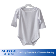 Heat Transfer Blank Sublimation Baby Clothes Romper Set Custom Logo Baby Daily Clothes Long Sleeve