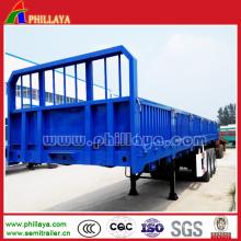Utility Trailer Bulk Cargo Trailer with Side Wall