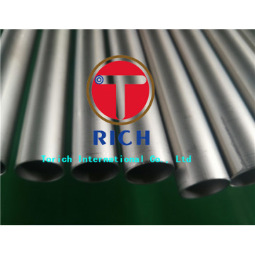 Titanium Tube Titanium Seamless Tube ASTM B338 Gr2 Titanium Tube untuk Heat Exchanger