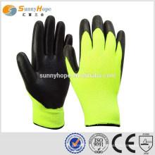 SUNNYHOPE industrielle Gummi Winter Handschuhe