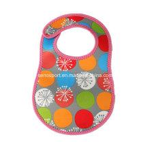 Cheap Price Eco-Friendly Washable Neoprene Baby Bib (SNBB03)