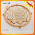 MC87 Custom Garment Blume Metall Zubehör für Metall-Tag